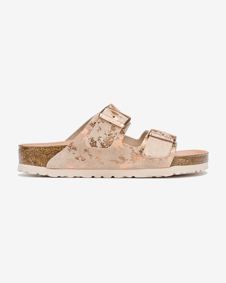 Birkenstock Arizona Vintage Metallic Rose Šľapky
